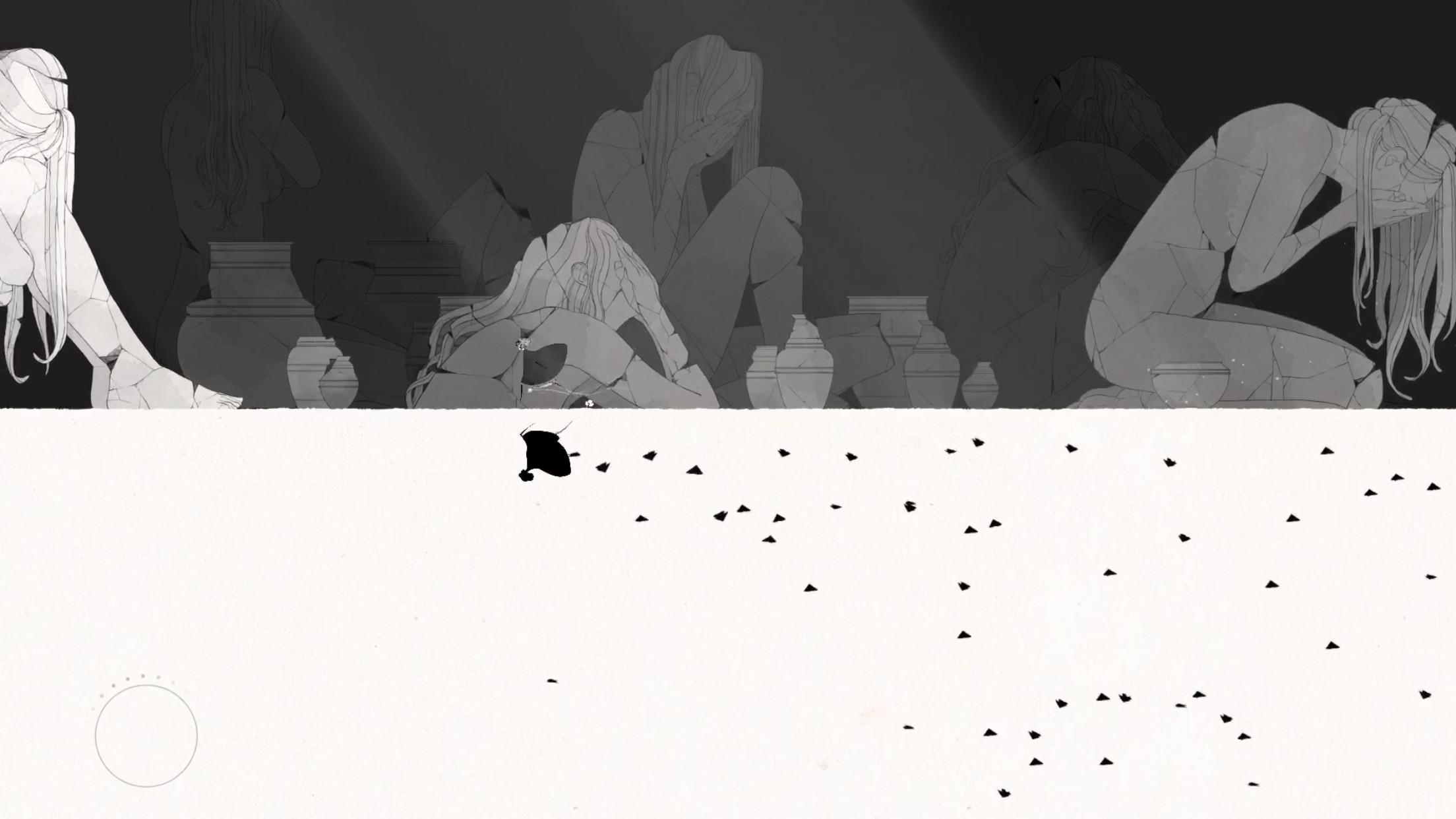 ▲▼手遊《GRIS》。(圖/翻攝自《GRIS》遊戲畫面)