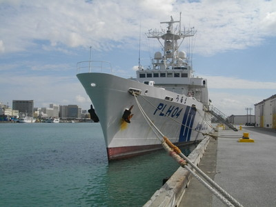 日本保安廳9艦行經台海 開啟AIS系統