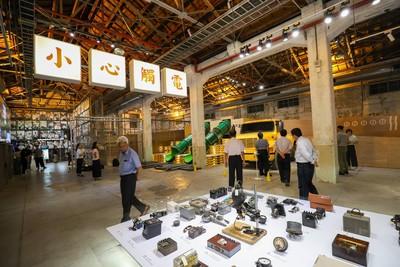 台中打卡景點再+1!工業風展覽與藍曬圖走廊 殺光手機記憶體