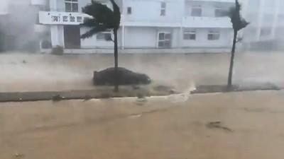 宮古島1.8萬戶停電 玲玲颱風北上