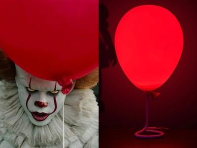 《牠》恐怖小丑推出紅氣球小夜燈