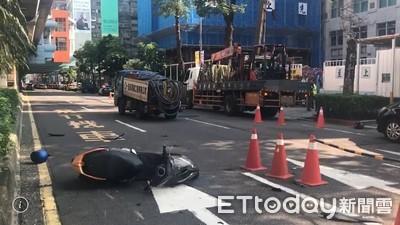 2機車碰撞 重機騎士「頭部破裂」血流滿地亡