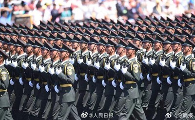 影/十一閱兵預演下午4時登場 北京全城戒備