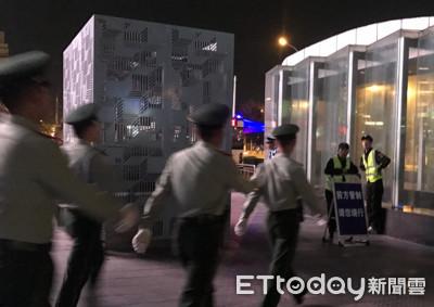 閱兵演習防堵偷拍 武警公安強力戒備