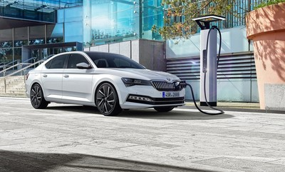 Skoda火力全開!油電Superb iV PHEV、Citigo電動車預告車展亮相