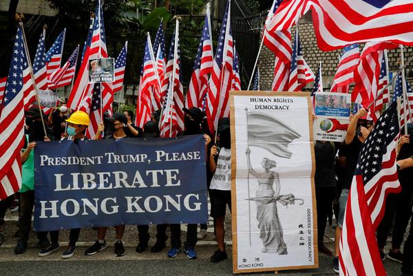 ▲▼香港人權與民主祈禱會。(圖/路透)