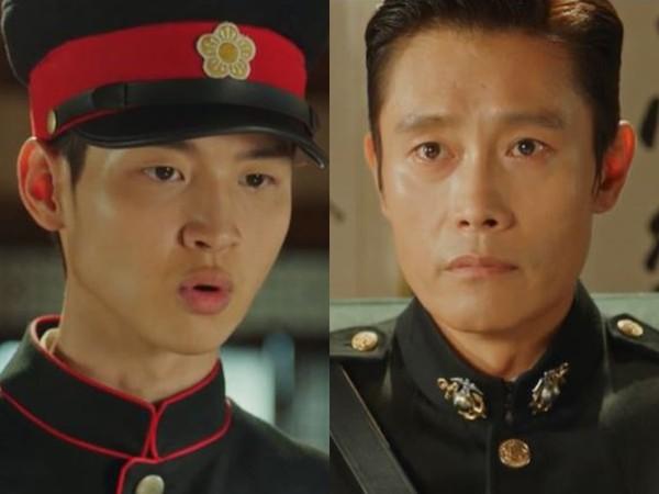 ▲張東尹在《陽光先生》與李炳憲有不少對手戲。(圖/翻攝自tvN)