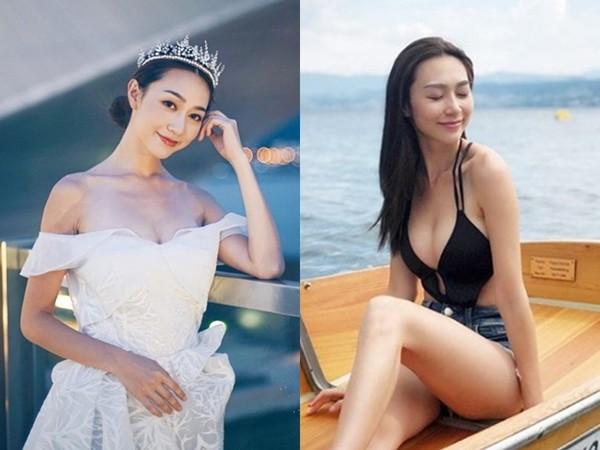 ▲▼香港小姐冠軍黃嘉雯、亞軍王菲。(圖/翻攝自IG)