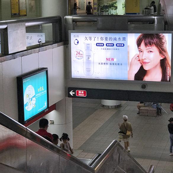 中山站高點位燈箱