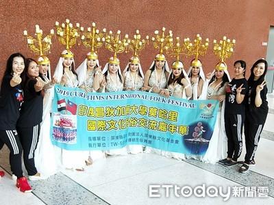 世界看見台灣美麗風情 中東傳統民俗舞團到印度交流