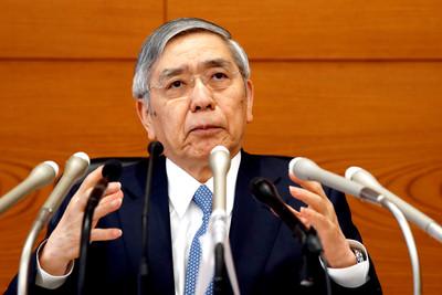 日央行總裁不排除再調降負利率
