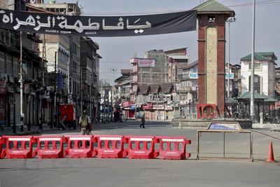 印稱有恐怖份子 在喀什米爾實施門禁