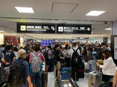成田機場交通全斷成「孤島」