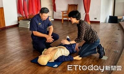 金山警強化急救技能「CPR +AED」
