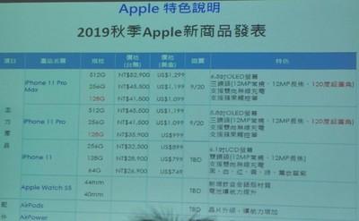 新iPhone台灣售價流出 網推這支最划算