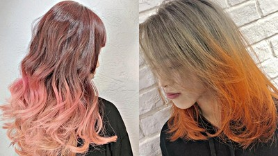 拒絕成為路人!日本超夯「斜槓髮色」 一撩髮回頭率爆升