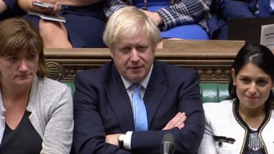 英國會再度否決強生提前大選
