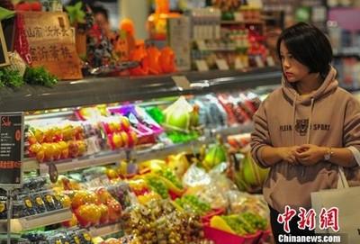 陸8月CPI年增率漲2.8%!食品價格影響約1.93個百分點