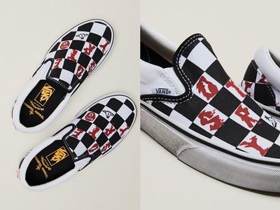 Vans懶人鞋變身龐克風!