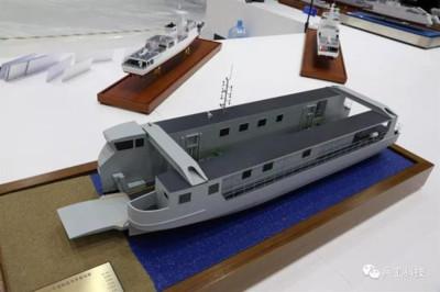 中國首次出口071E型船塢登陸艦