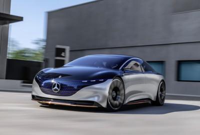 賓士Vision EQS電動概念車亮相
