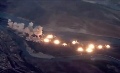 美軍轟炸IS據點 空投36公噸炸彈