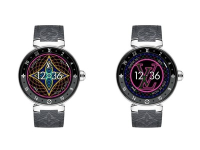 LV霓虹介面智能錶好威風!