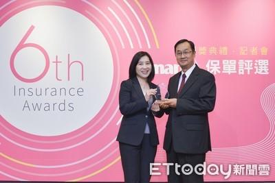 元大人壽榮獲「Smart推薦優質保單」