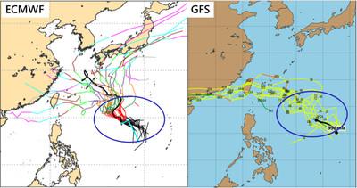 琵琶颱風最快今生成 模擬路徑有幾條近台灣