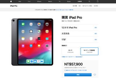 蘋果最高階款iPad Pro大降7000元