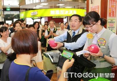 台南市長民調滿意度逐步爬升讓市民有感