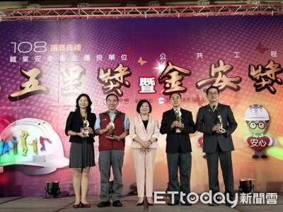 台南市麻豆工業區重劃獲金安優等獎