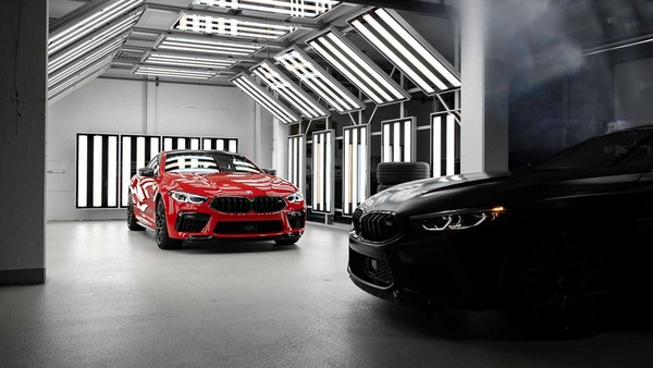 ▲Bmw M8 Individual Manufaktur Edition特仕車。(圖/翻攝自Bmw)