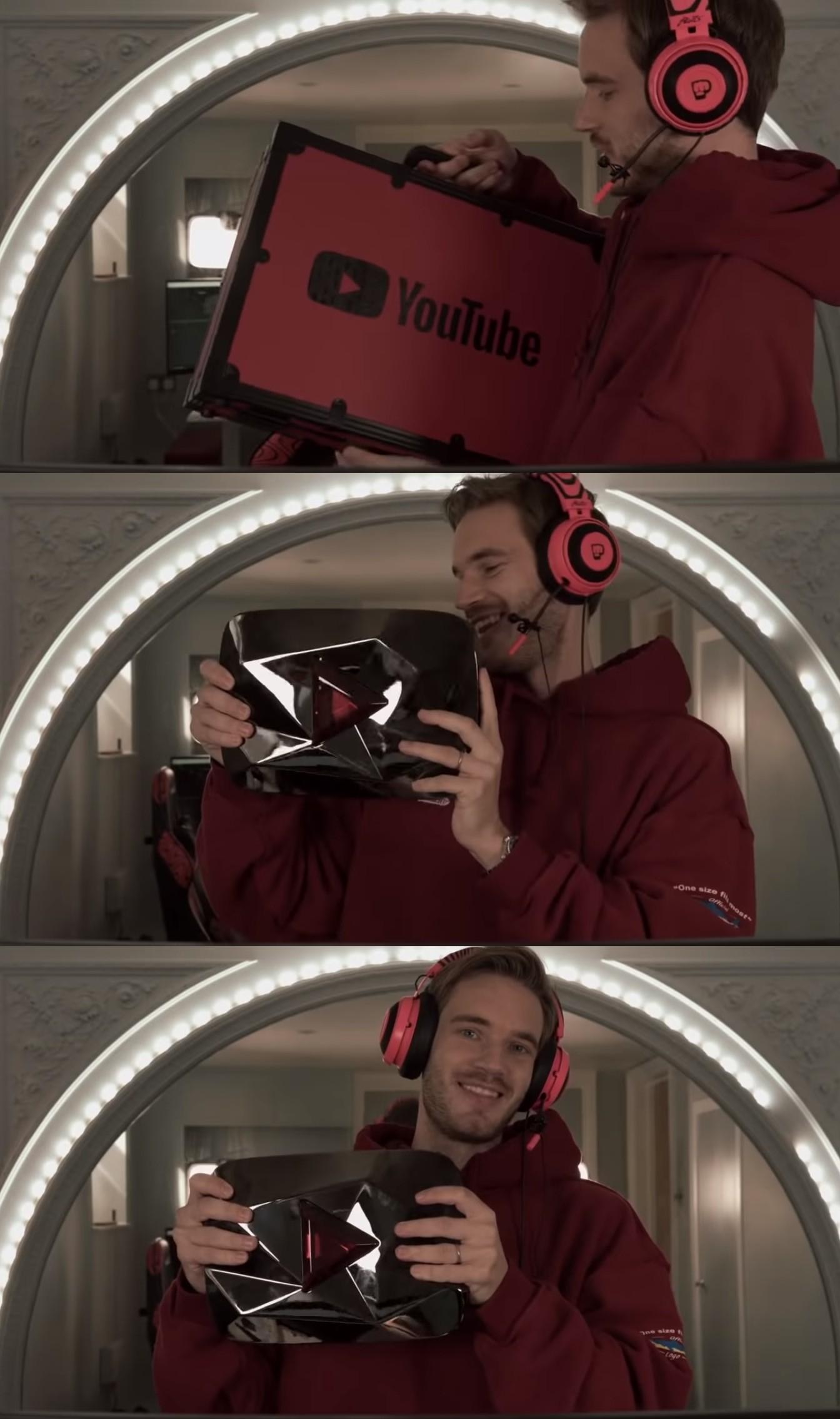 YouTuber訂閱破千萬送鑽石…破億送什麼? PewDiePie「親自開箱」網全看傻!
