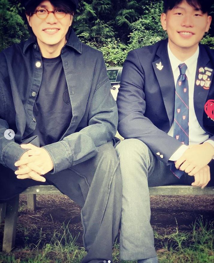 ▲▼陳坤和兒子合照。(圖/翻攝自IG/pawo_chen)