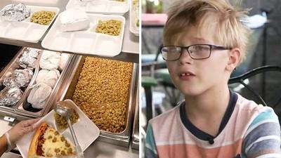 欠9元餐費「只給一片吐司」!窮學生被打菜阿姨羞辱,餓到回家不敢講