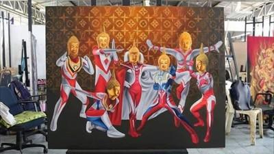 女大生畫「鹹蛋佛祖超人」激怒保守派