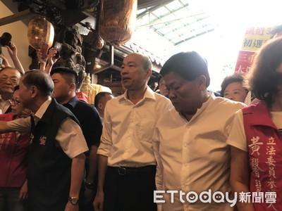 韓國瑜造勢場竟藏高齡扒手!1天得手逾6萬