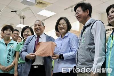小英總統參訪台南回台投資企業