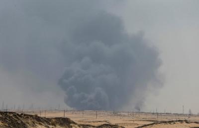 沙國油廠估今天結束前恢復1/3產量