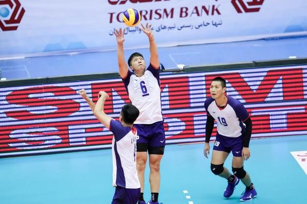 男排亞錦賽/中華1比3不敵日本 8強碰南韓、巴基斯坦