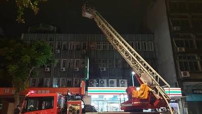 北市公寓陽台洗衣機突起火 警消迅速撲滅