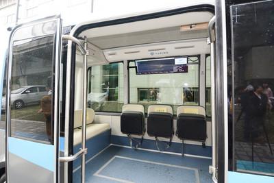 桃市推無人自駕巴士 應用在機捷接駁