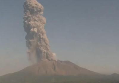櫻島火山噴發 黑灰竄海拔3900m