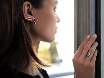 香奈兒珠寶不對稱才美