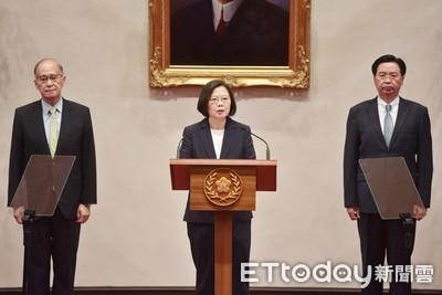 索羅門與台斷交 蔡英文:台灣不會與中國競逐金錢外交