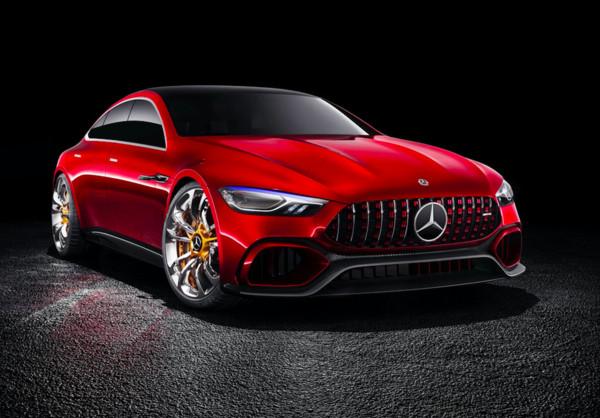 ▲图为宾士AMG GT Concept概念车 。(图/翻摄自Mercedes-Benz)