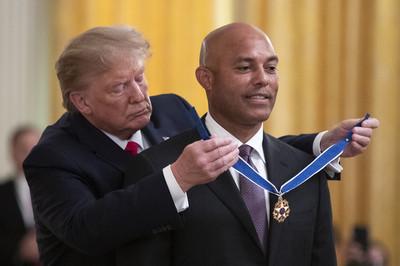 李維拉獲川普頒發美國自由獎章