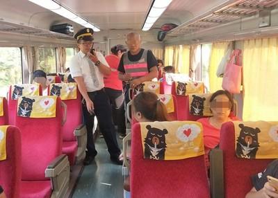 列車長遭乘客拿安全帽狠砸!台鐵:乘客有癲癇