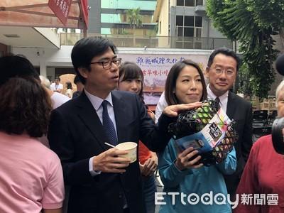 陳其邁喊話韓國瑜:民調倒數不會不見